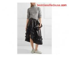 Buy Women's Leather Skirts Online