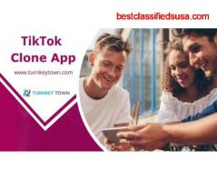 Reach us out to get your TikTok clone App